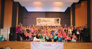 Zweite Zumba Party